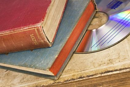 Bücher ein Highlight auf dem Flohmarkt